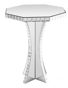 The Mirrored Octagonal Side table