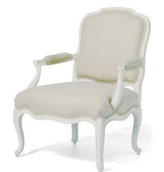 Wilis & Gambier Ivory Armchair