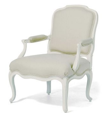 Wilis & Gambier Ivory Armchair